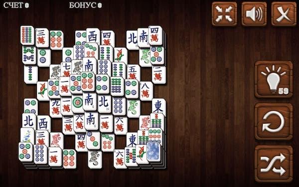 онлайн маджонг играть бесплатно карты